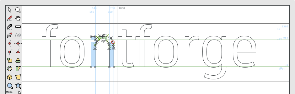 Fontforge Open Source Font Editor