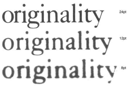 Stylistic Transformations on Fonts